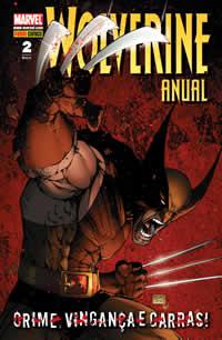 Capa da revista Wolverine Anual 2 da Panini