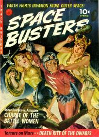 Capa de uma revista de editora alternativa da década de 1940
