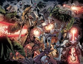 Batalha entre os Zumbis e os Robôs